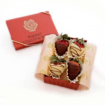 Fresas en Caja de regalo