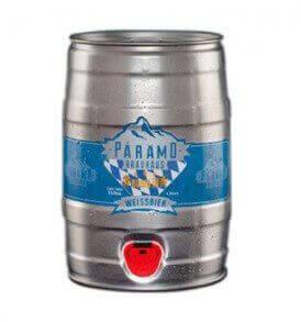 Barril de cerveza WEISSBIER RUBIA 5lts.