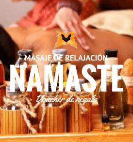 Namaste masaje de relajacion