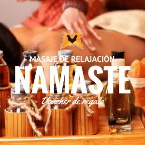 Masajes de Relajación – 3 Sesiones en Namaste
